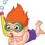 snorkeling-kid